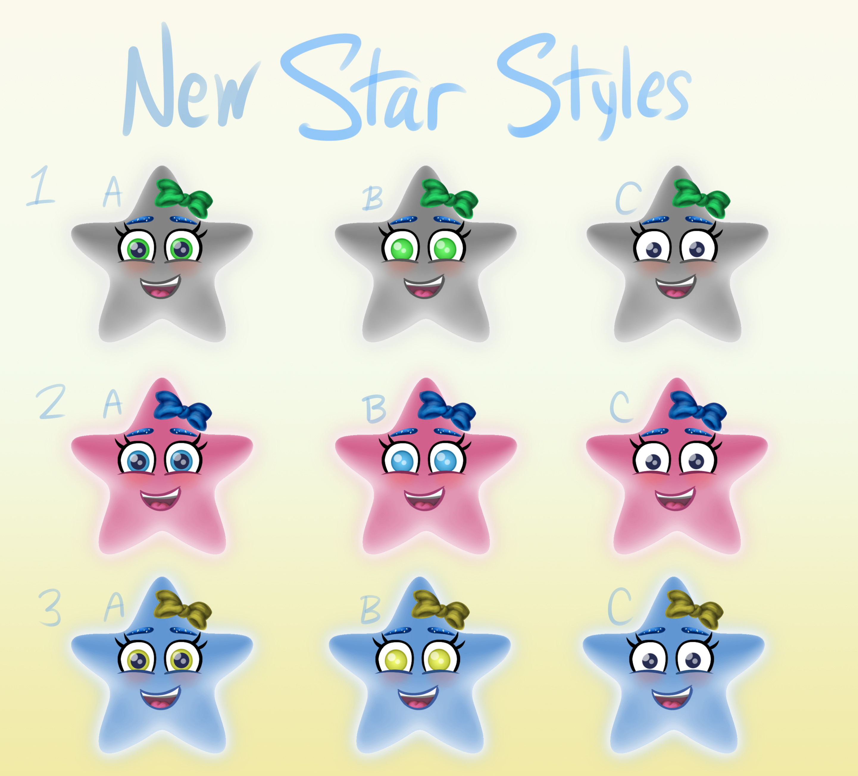 Early concepts for New Star