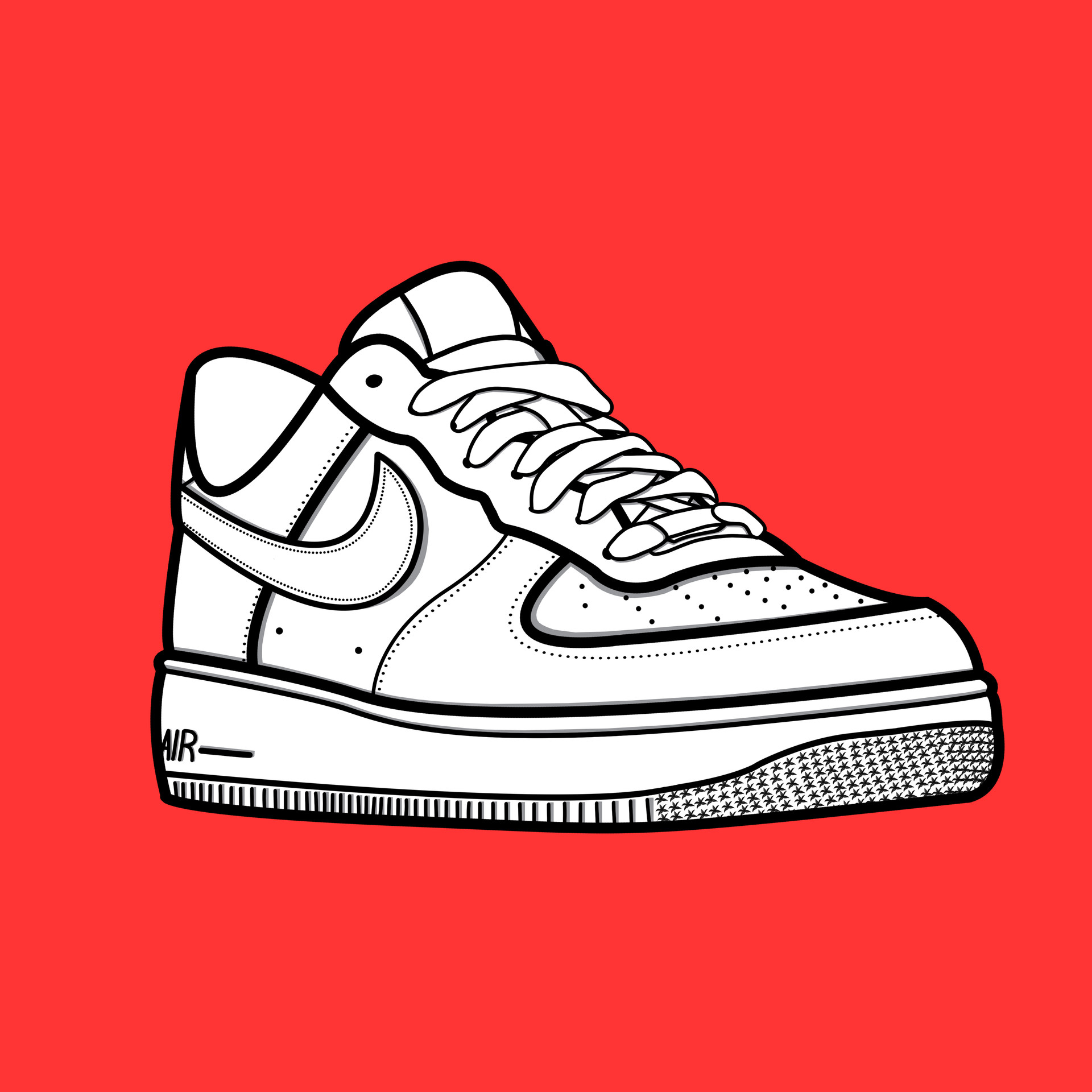 Falange vestíbulo Evaporar  chris plantinga - Nike Air Force 1