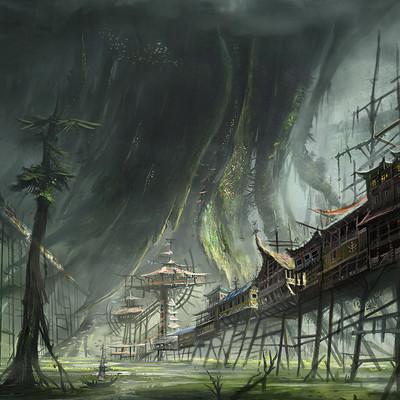 Tsvetelin krastev swamp artstation