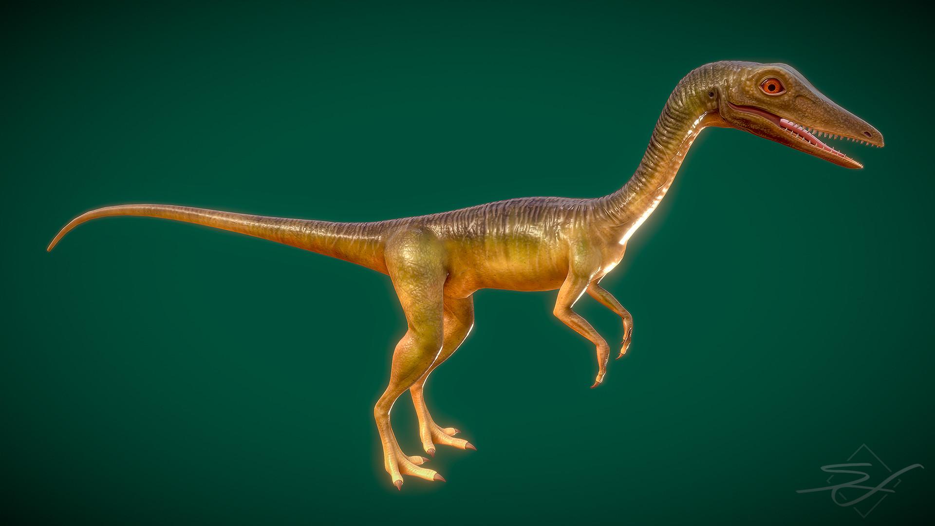 Sebastian irmer compsognathus render 05