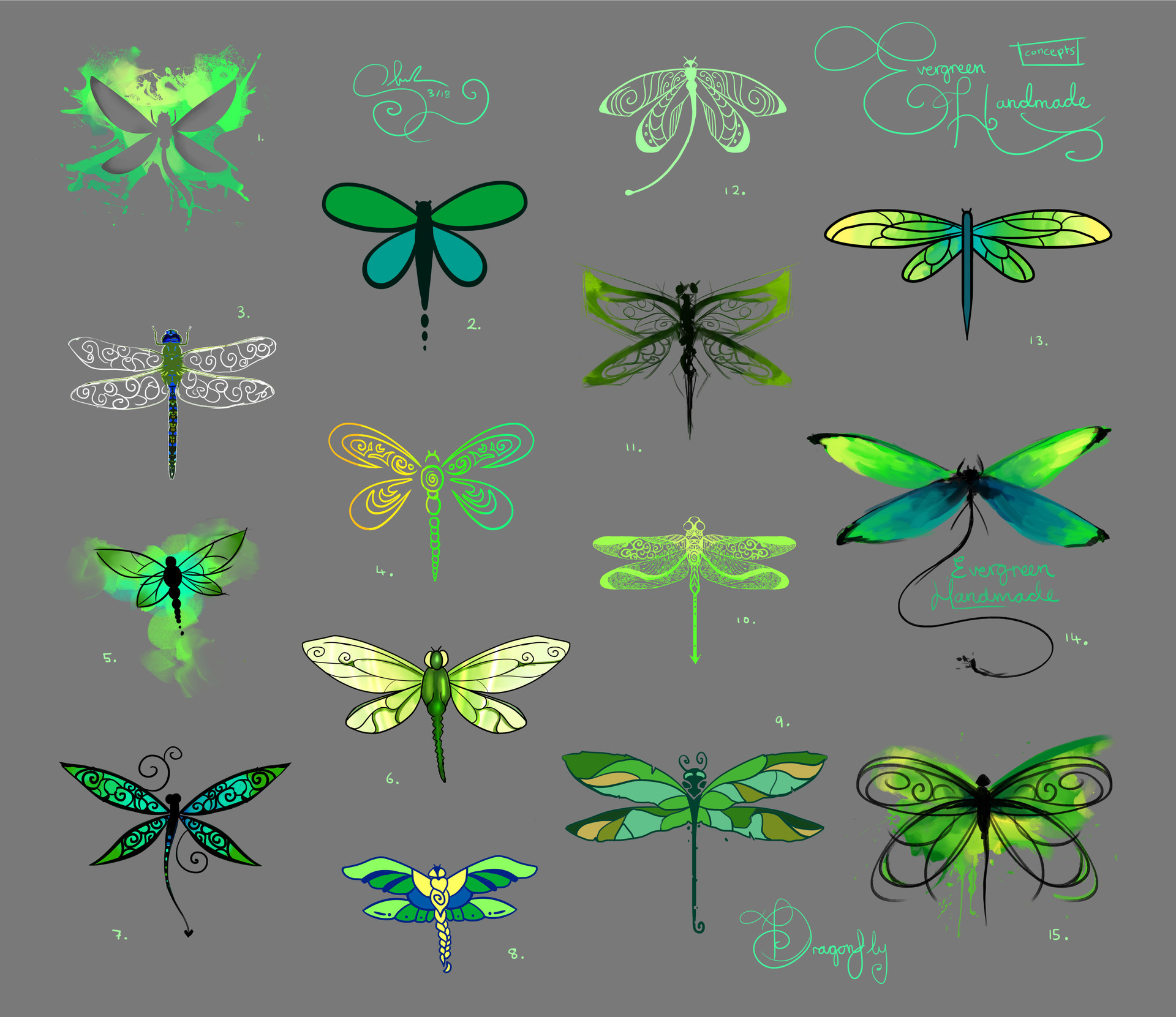 Shellz art 2 dragonfly concepts