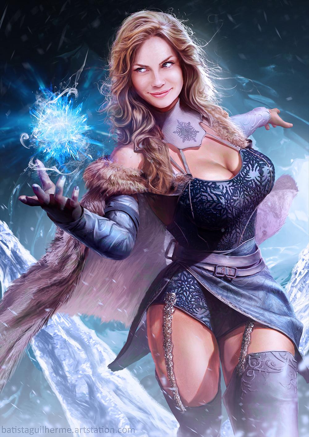 Juliet, the Ice Sorceress