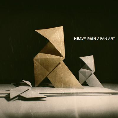 Heavy Rain Origami Killer FanArt Vladimir Vodopyanov PRO