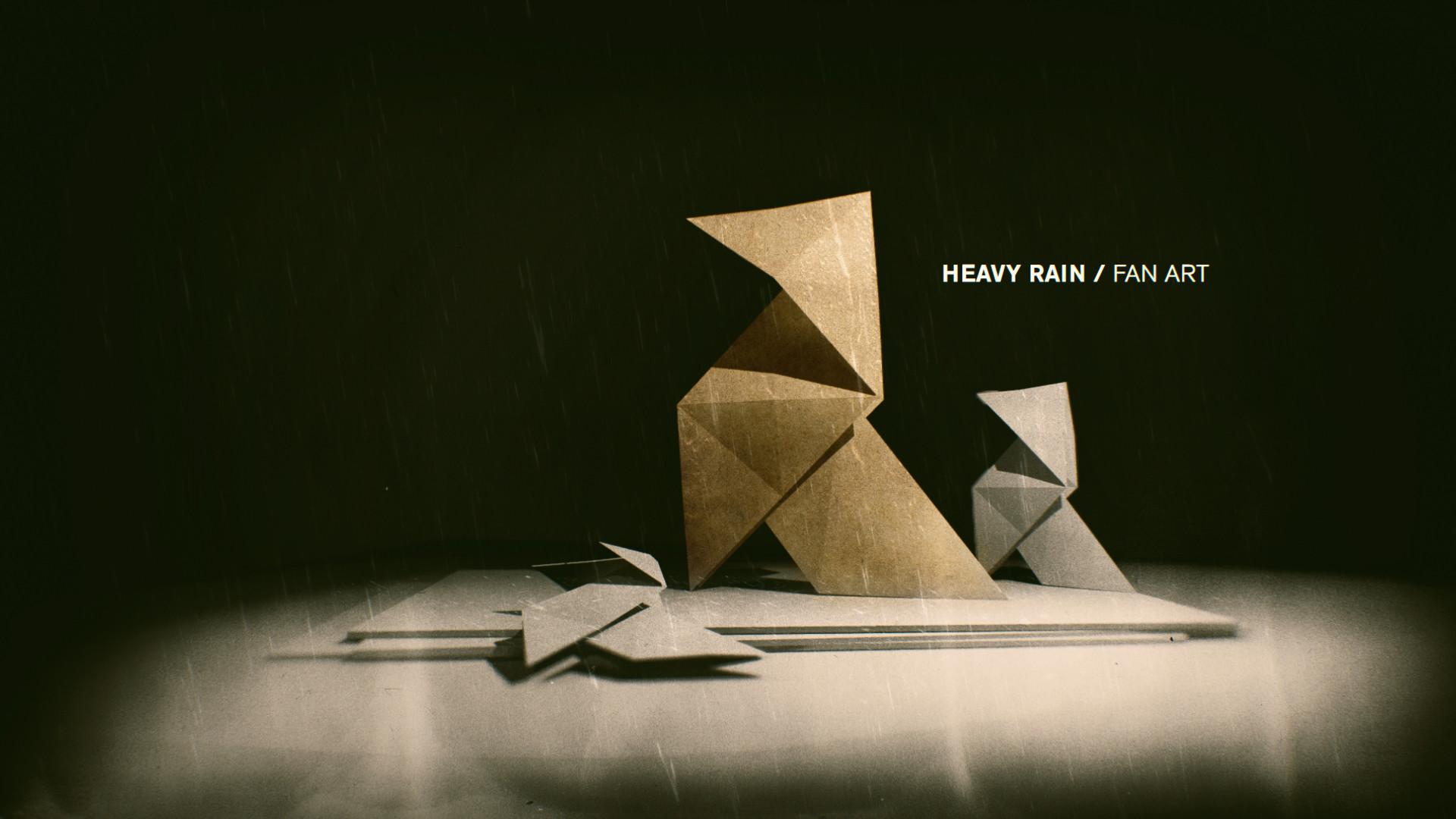 Artstation heavy rain origami killer fanart vladimir vodopyanov jeuxipadfo Image collections