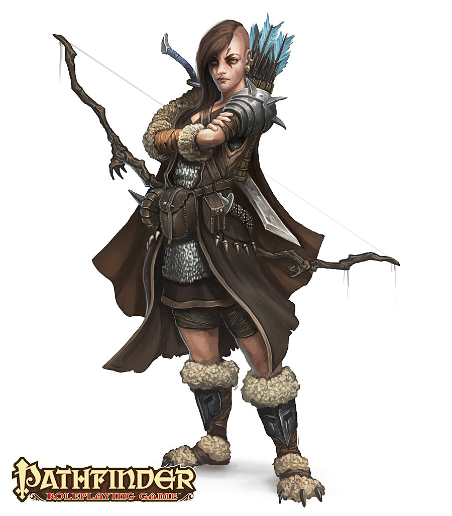 ArtStation - Pathfinder - Character designs for Paizo's Pathfinder