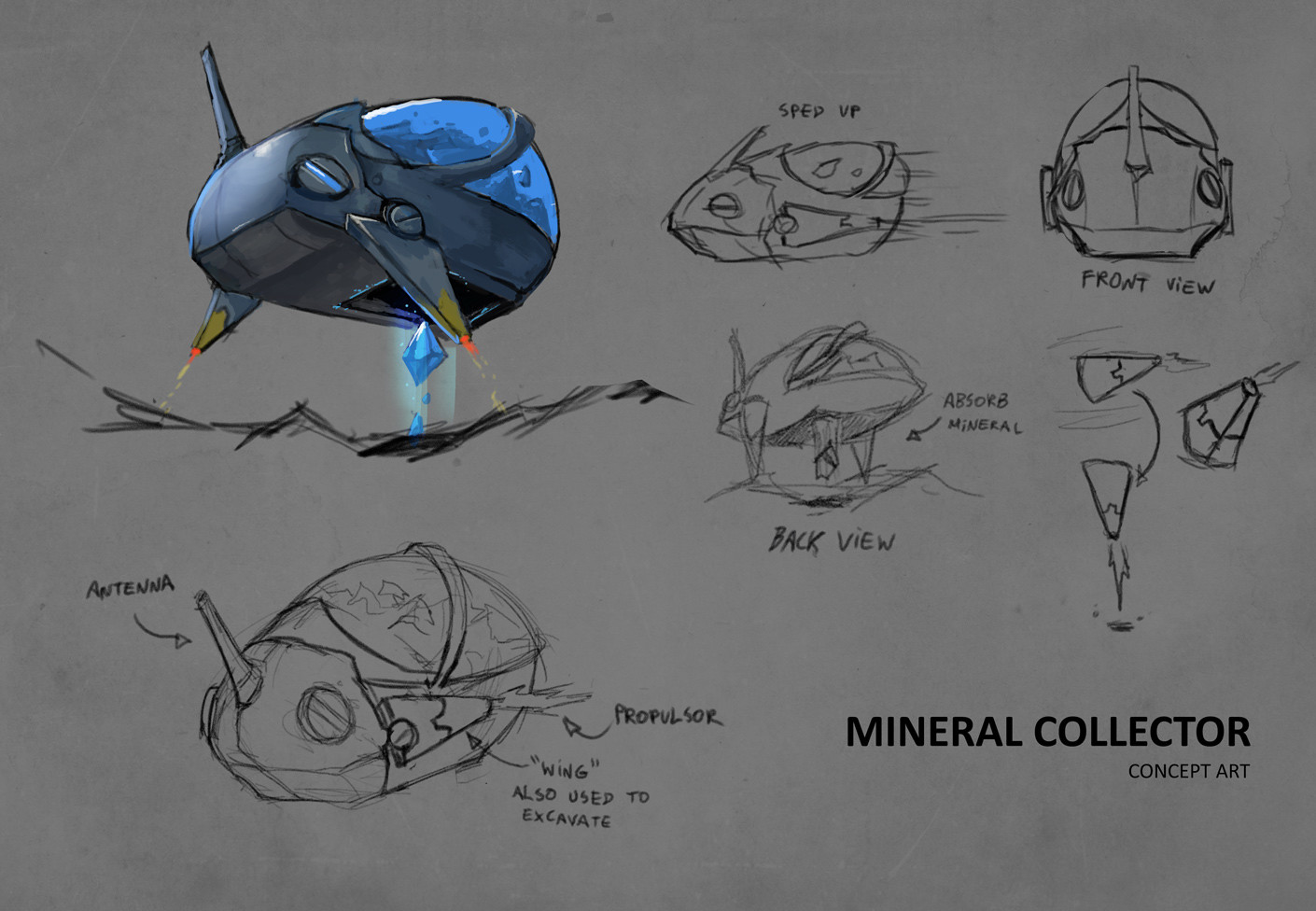 Concept - Mineral Collector