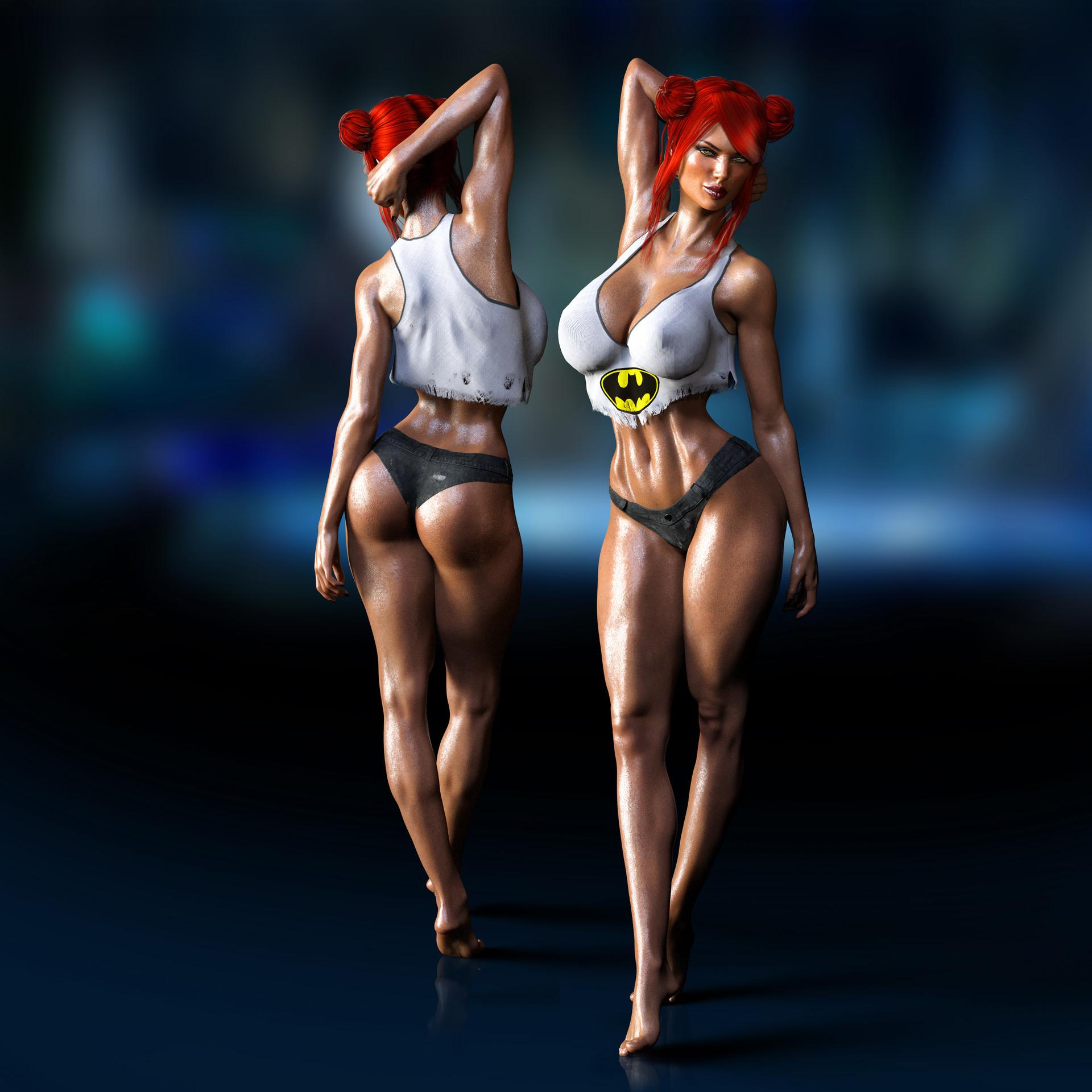ArtStation - Barbara Gordon • After training, RollerCoaster