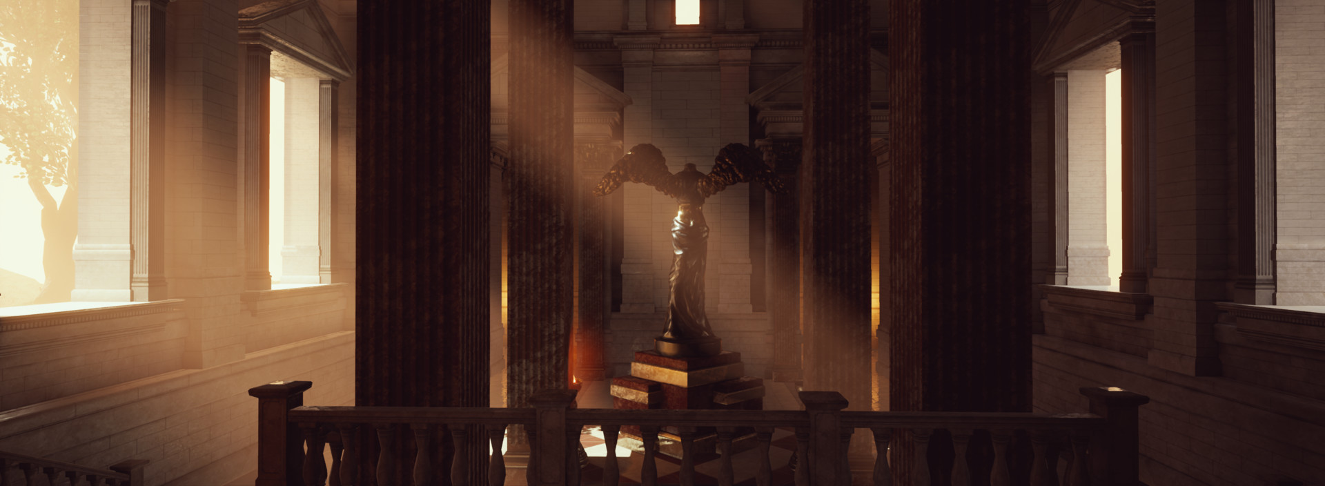 ArtStation - UE4 Sun Temple ReLighting, Allen Zayden