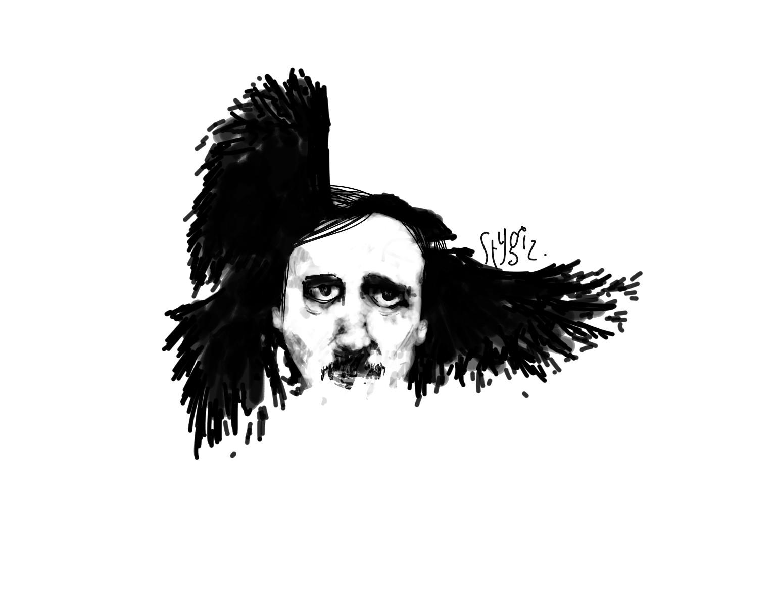 Edgar Allan Poe — 2014