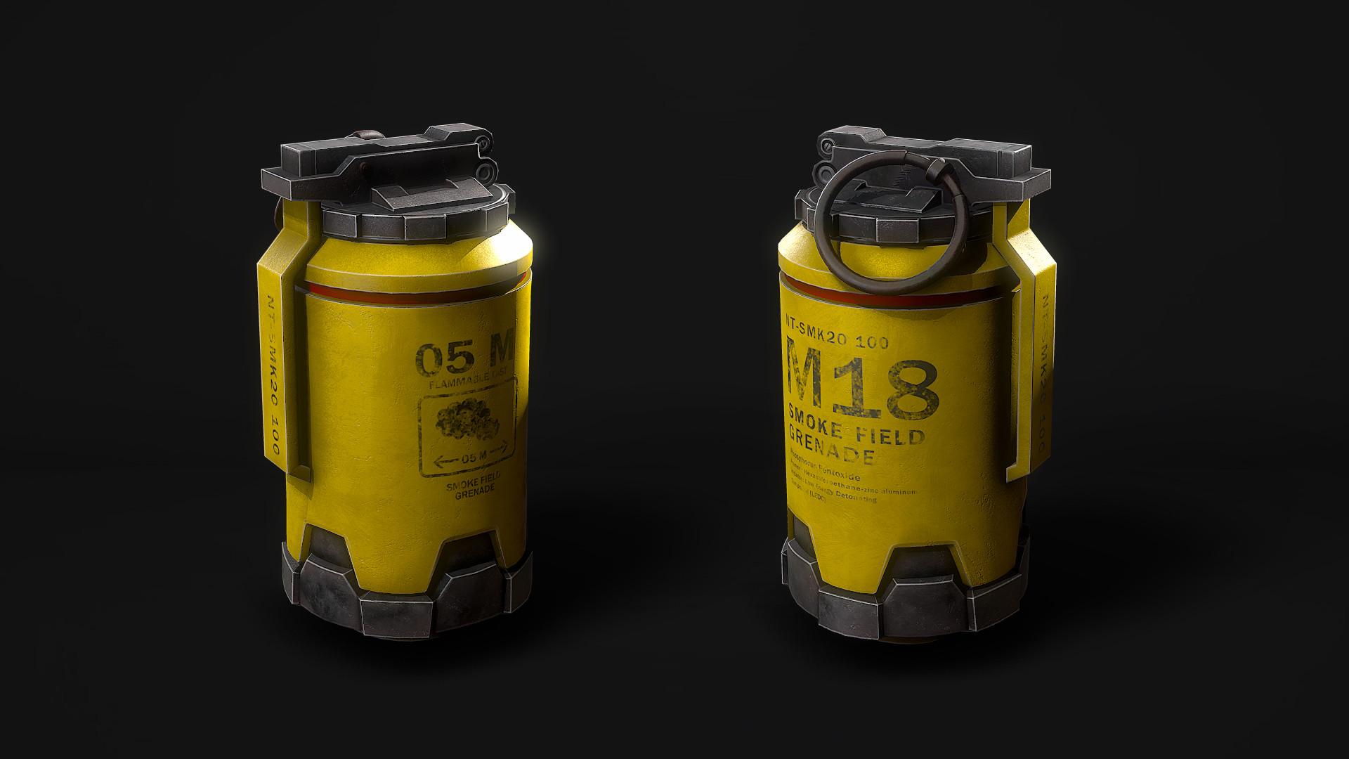 Marcelo m prado grenade smk