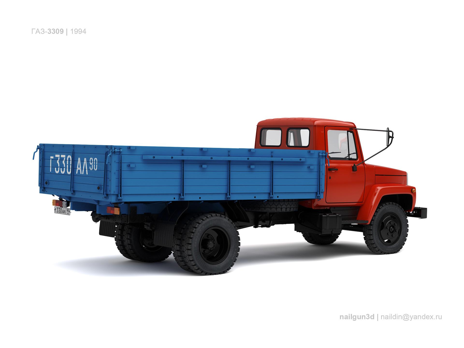 Nail khusnutdinov ussr gaz 3307 1994 1