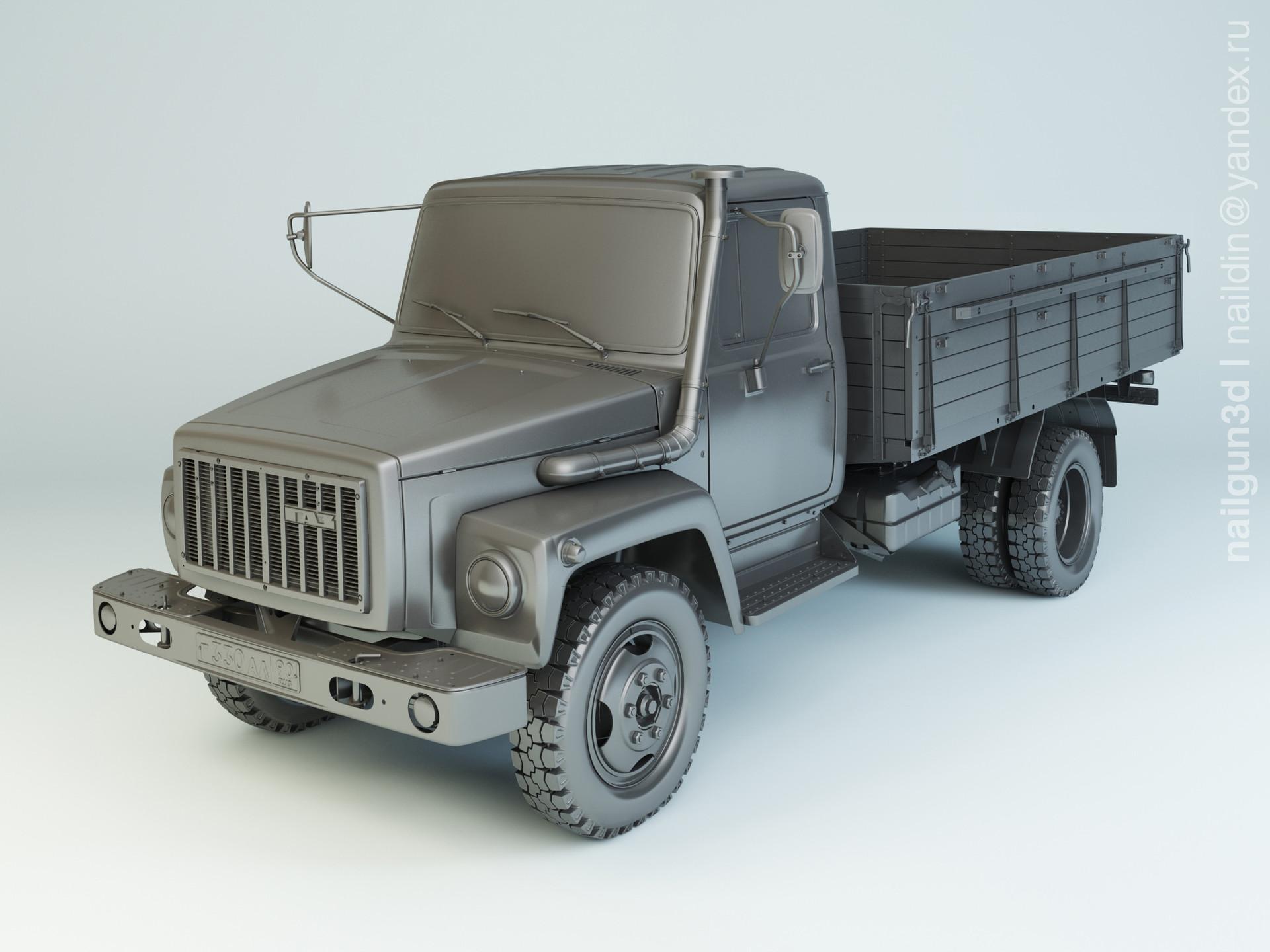 Nail khusnutdinov alg 021 000 gaz 3309 modelling 0