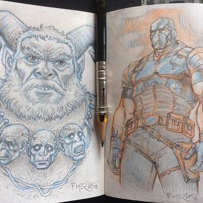Fernando merlo sketchbook 2
