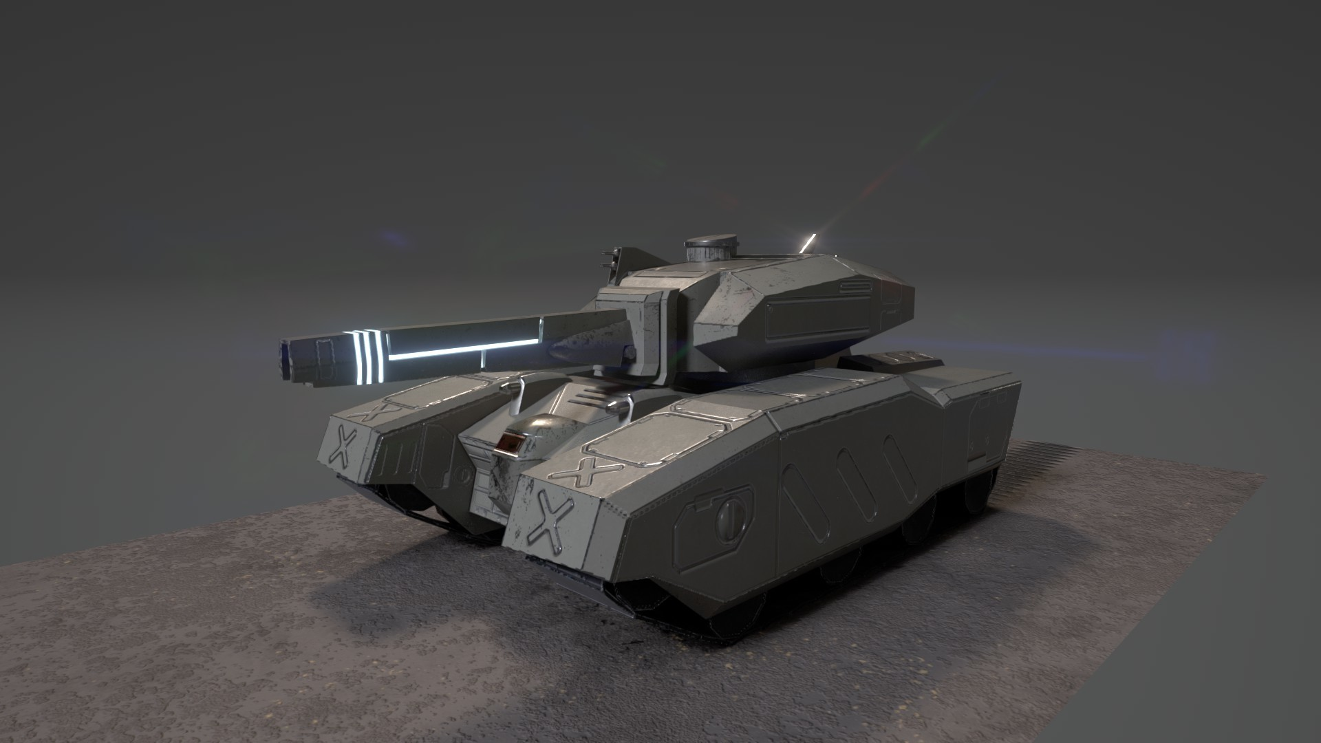 Estevez Main Battle Tank - Updated Textures