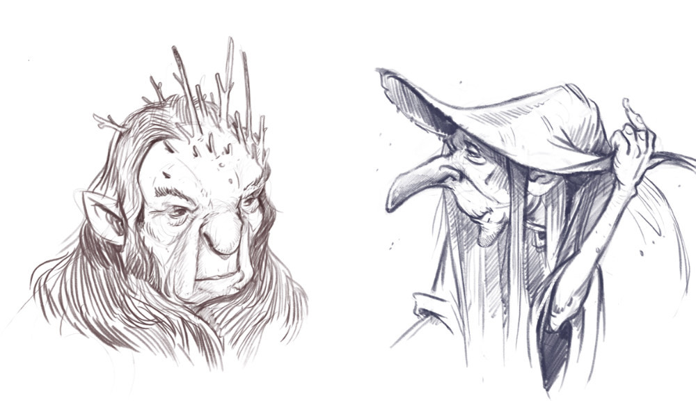 Troll matriarch and witch from cursed lands.