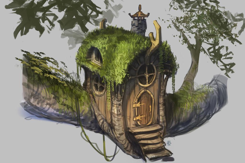 Original Concept by: 000Fesbra000 https://000fesbra000.deviantart.com/art/Fairy-House-concept-461451184