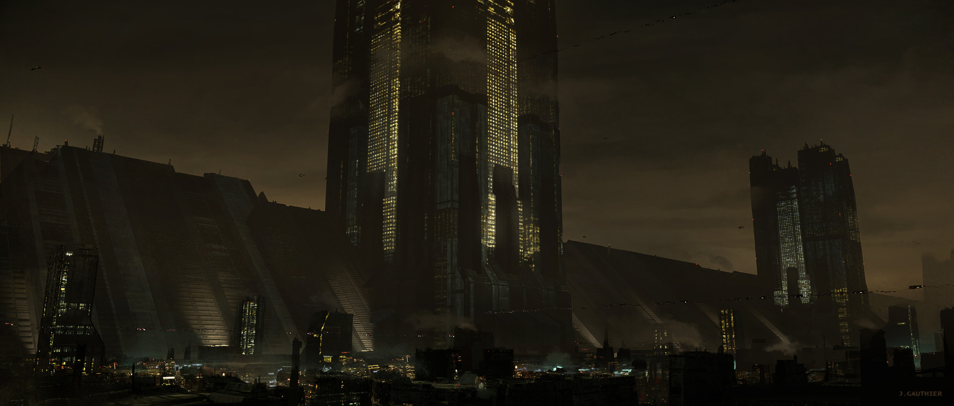 Julien gauthier scifi city 03