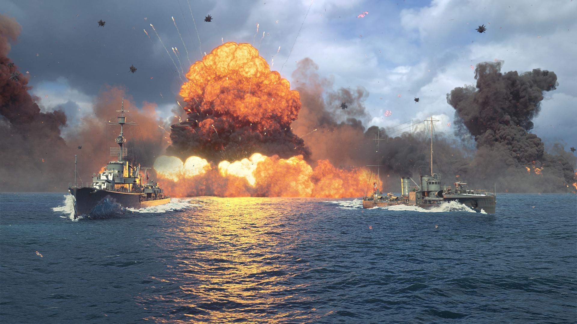 Andrian Tihomirov - World of Warships - German Destroyers