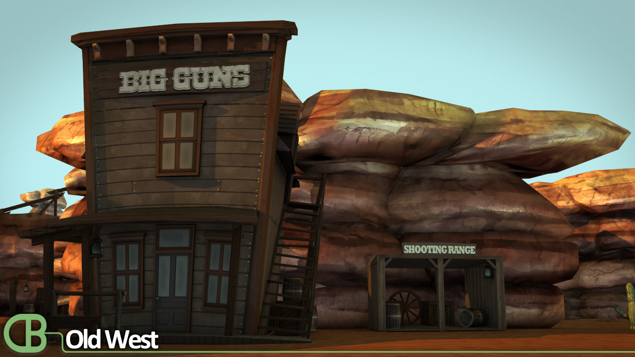 Welcome to the old west!