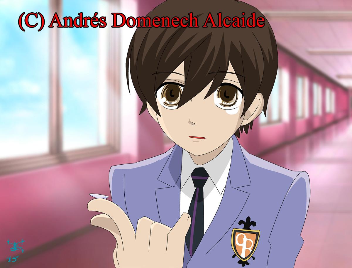 Andres Domenech Alcaide Haruhi Fujioka