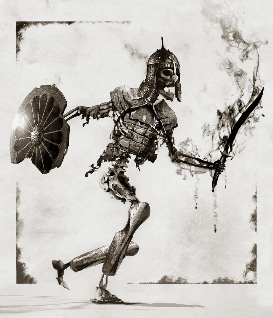 Daren horley skeleton