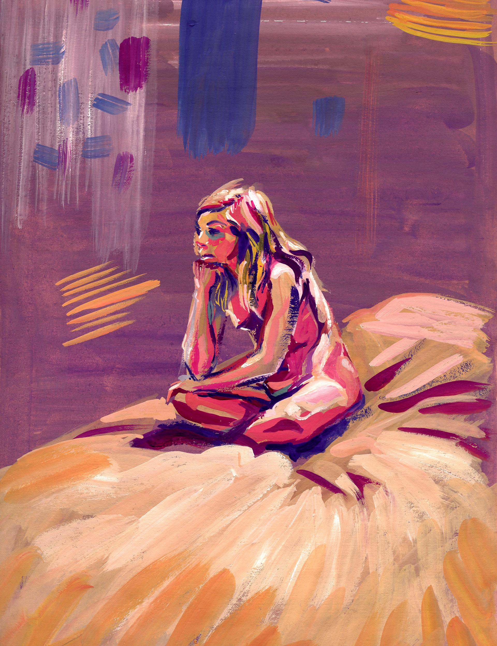 Elisa moriconi 1 03 marzo girl sitting