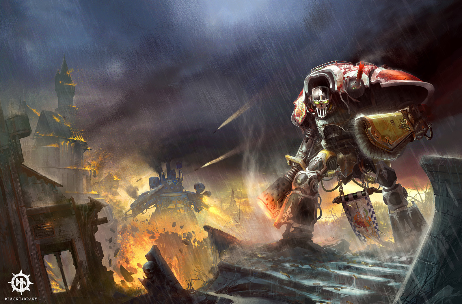 Black Library - Knightsblade cover