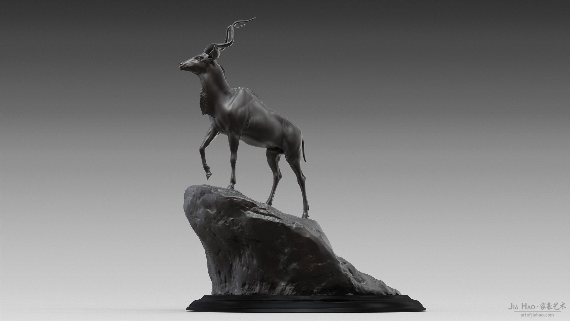 Jia hao greaterkudu digitalsculptureb 01