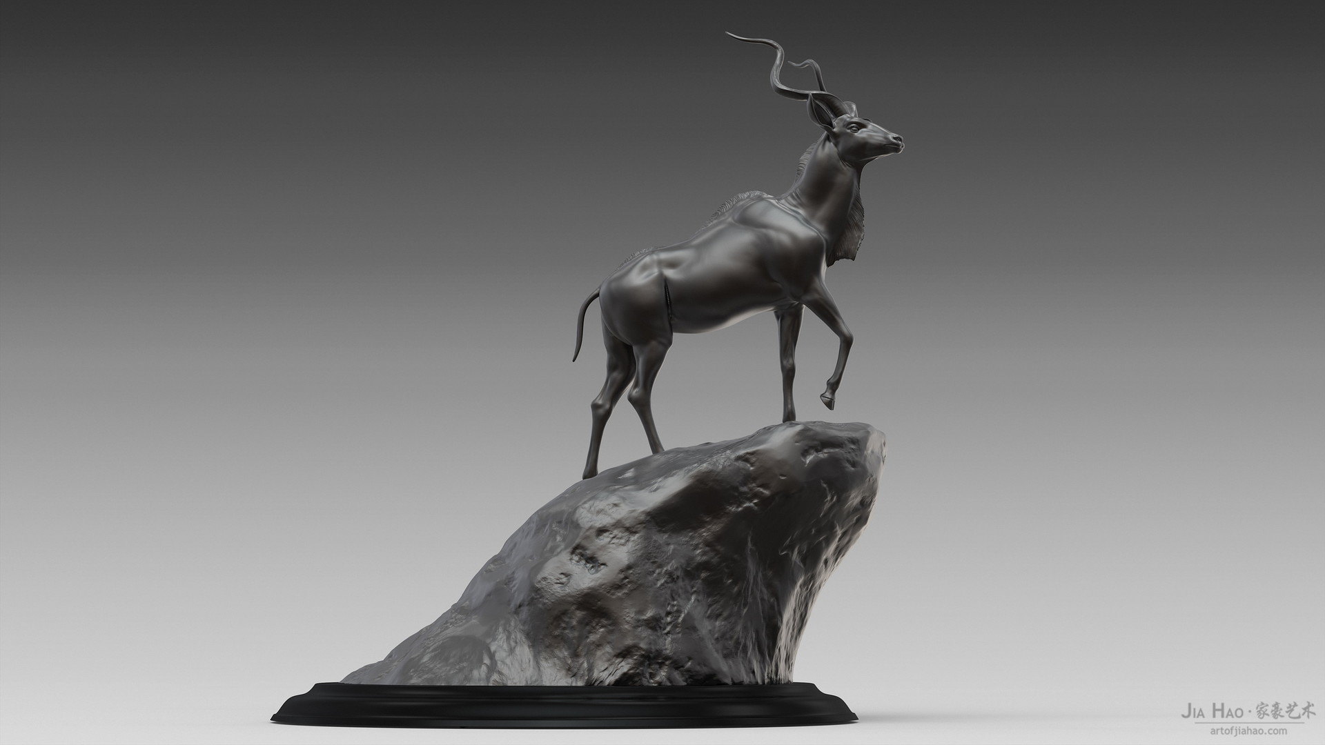 Jia hao greaterkudu digitalsculptureb 03