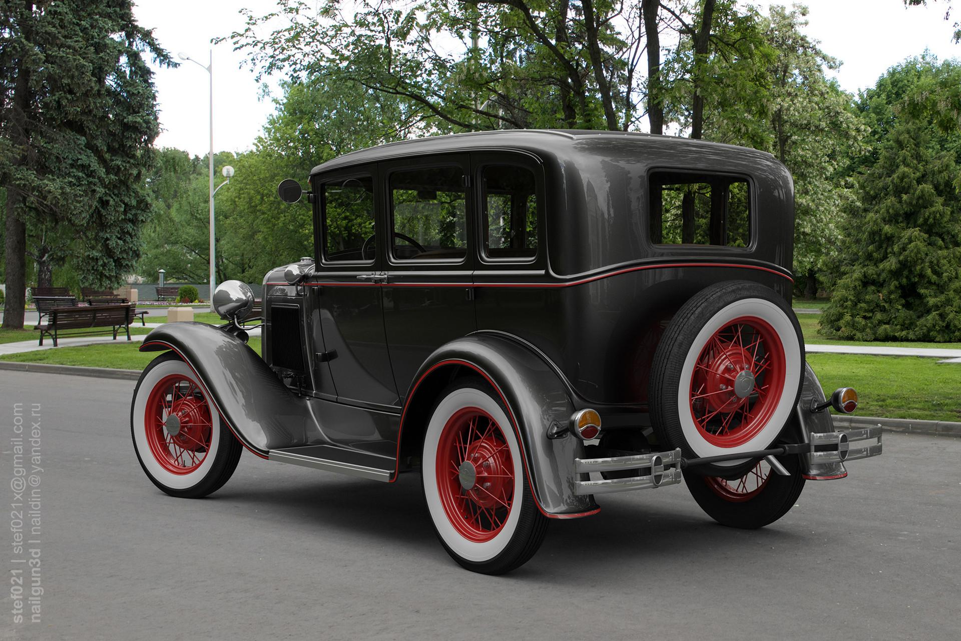 Nail khusnutdinov a0003 ford a fordor 1931 render 2