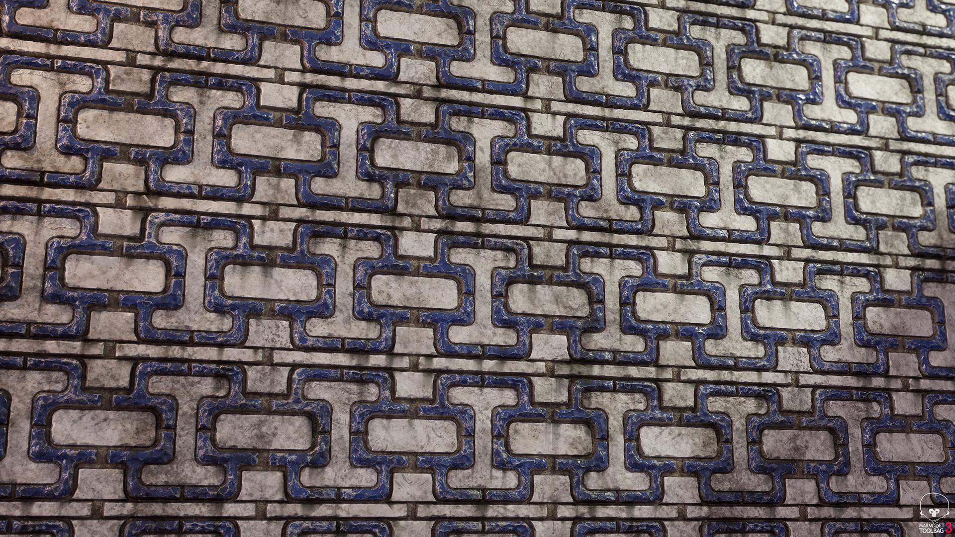 Walid k perrussel chinese trim tile
