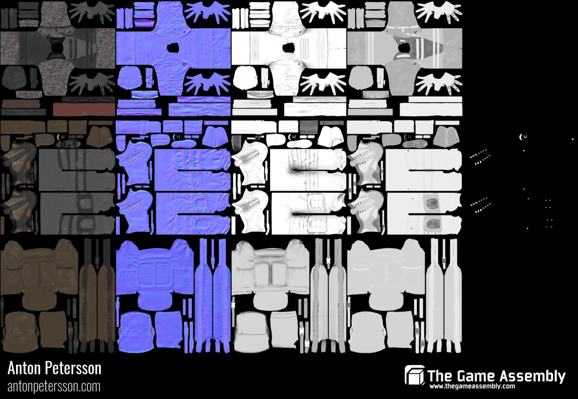 2048x2048 textures