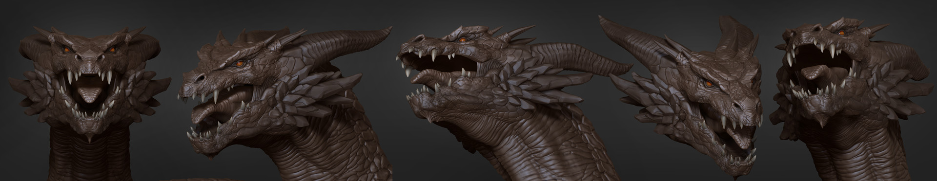 5518 studios 5518 3d stepanchikov rune dragon highpoly 09