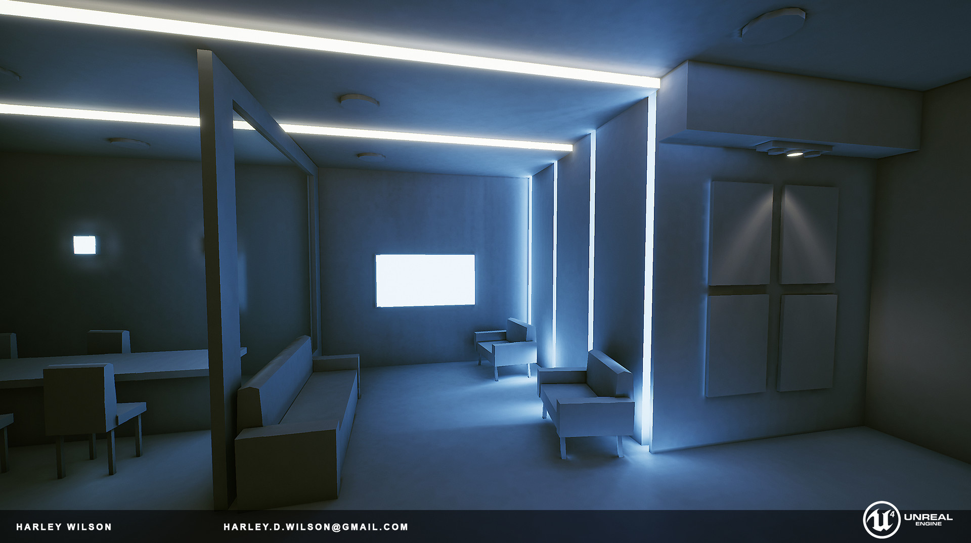 ArtStation - Lighting Studies [UE4], Harley Wilson