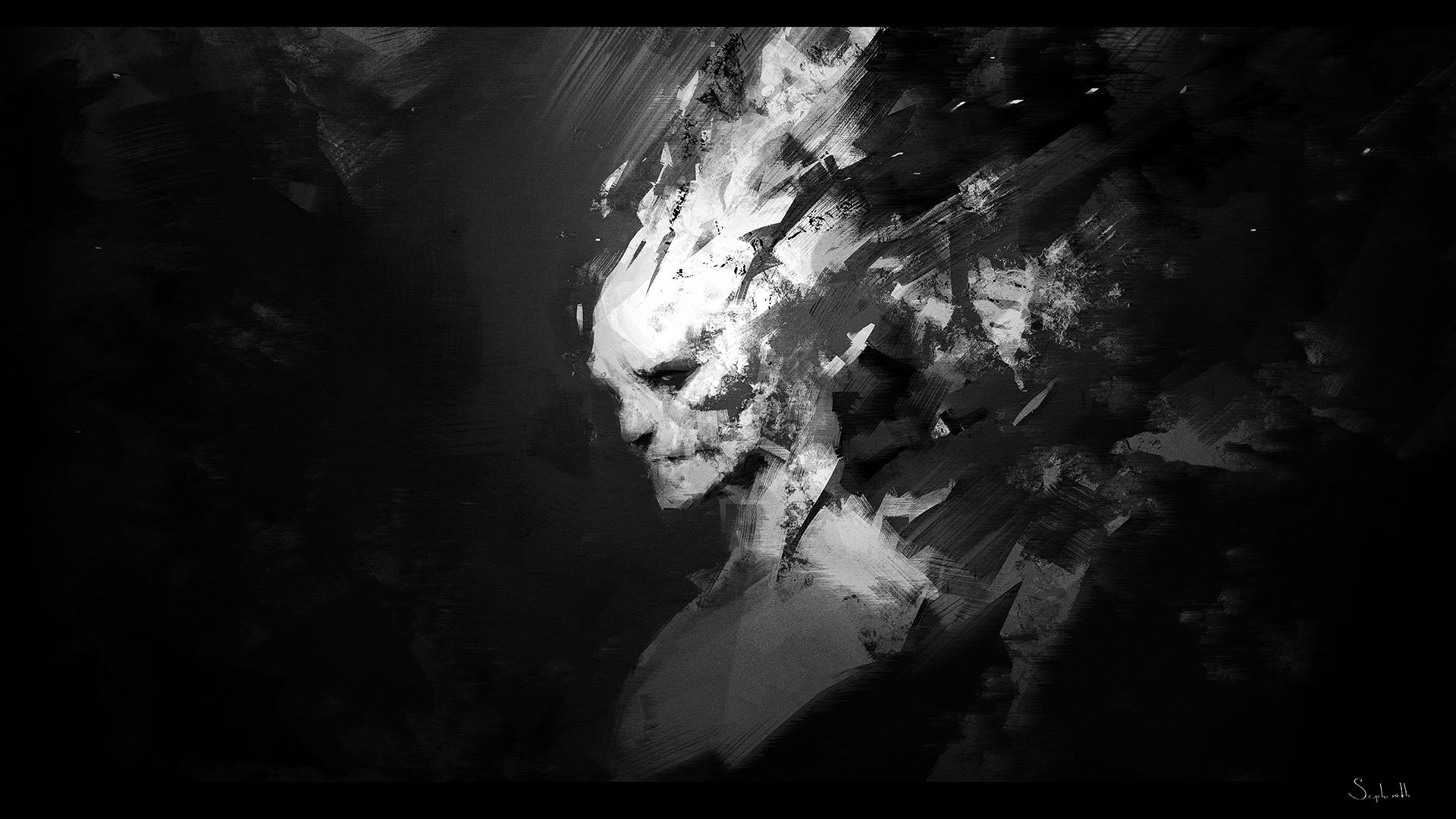 Sephiroth art afi