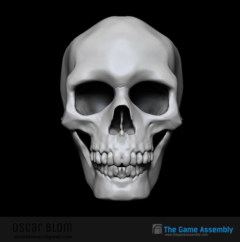 Oscar blom skullfront