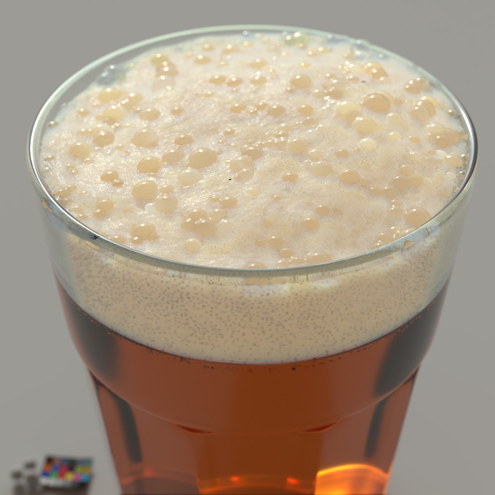 shading study_beerfoam
