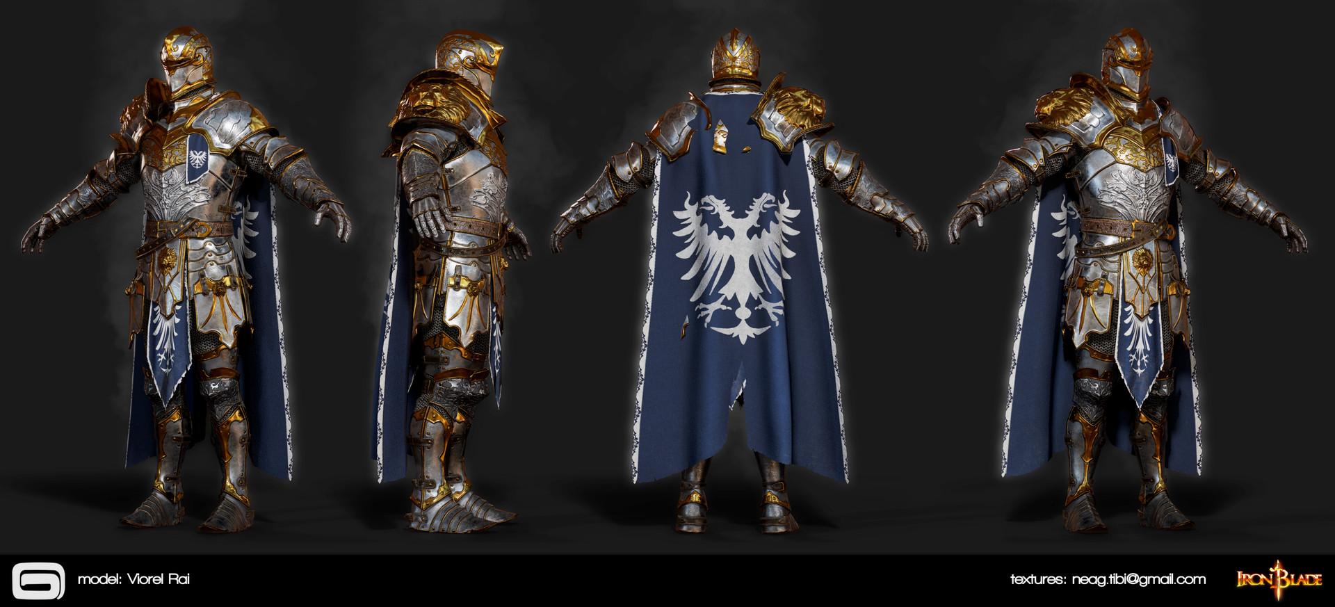 Tibi neag tibi neag iron blade mc armor 07b2