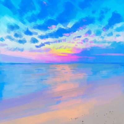 Ali maher blue sky