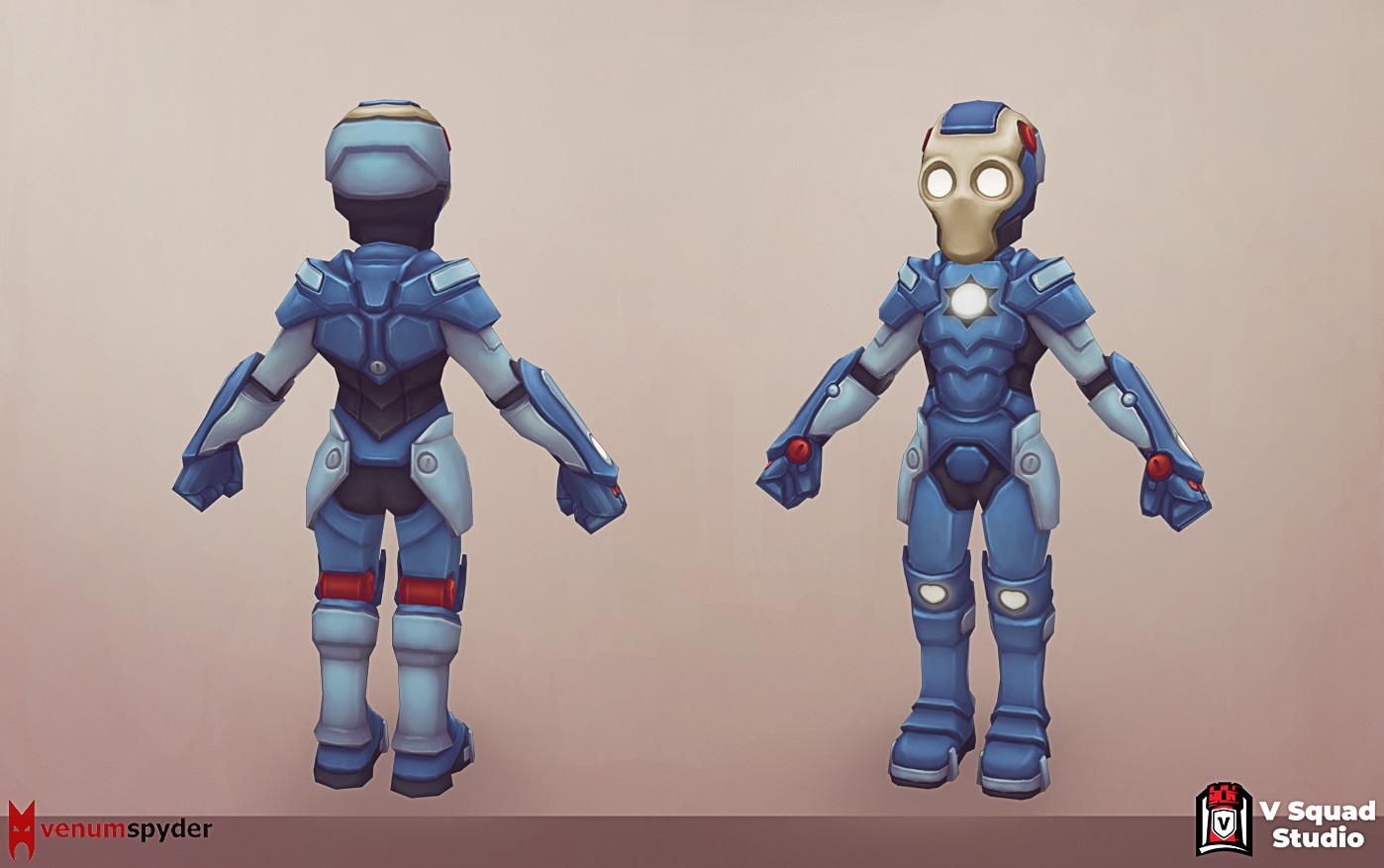 V squx studio ironman 2 b