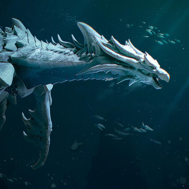 Sea Dragon Concept - Syldra
