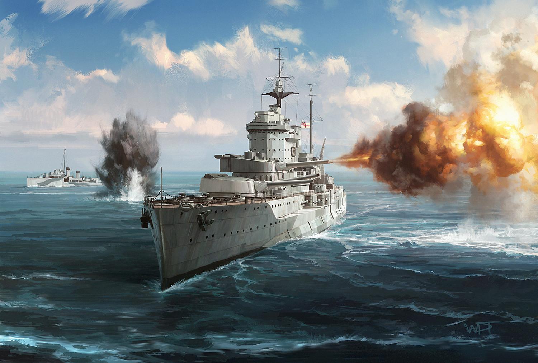 Darren tan brittany1944 hms warspite da