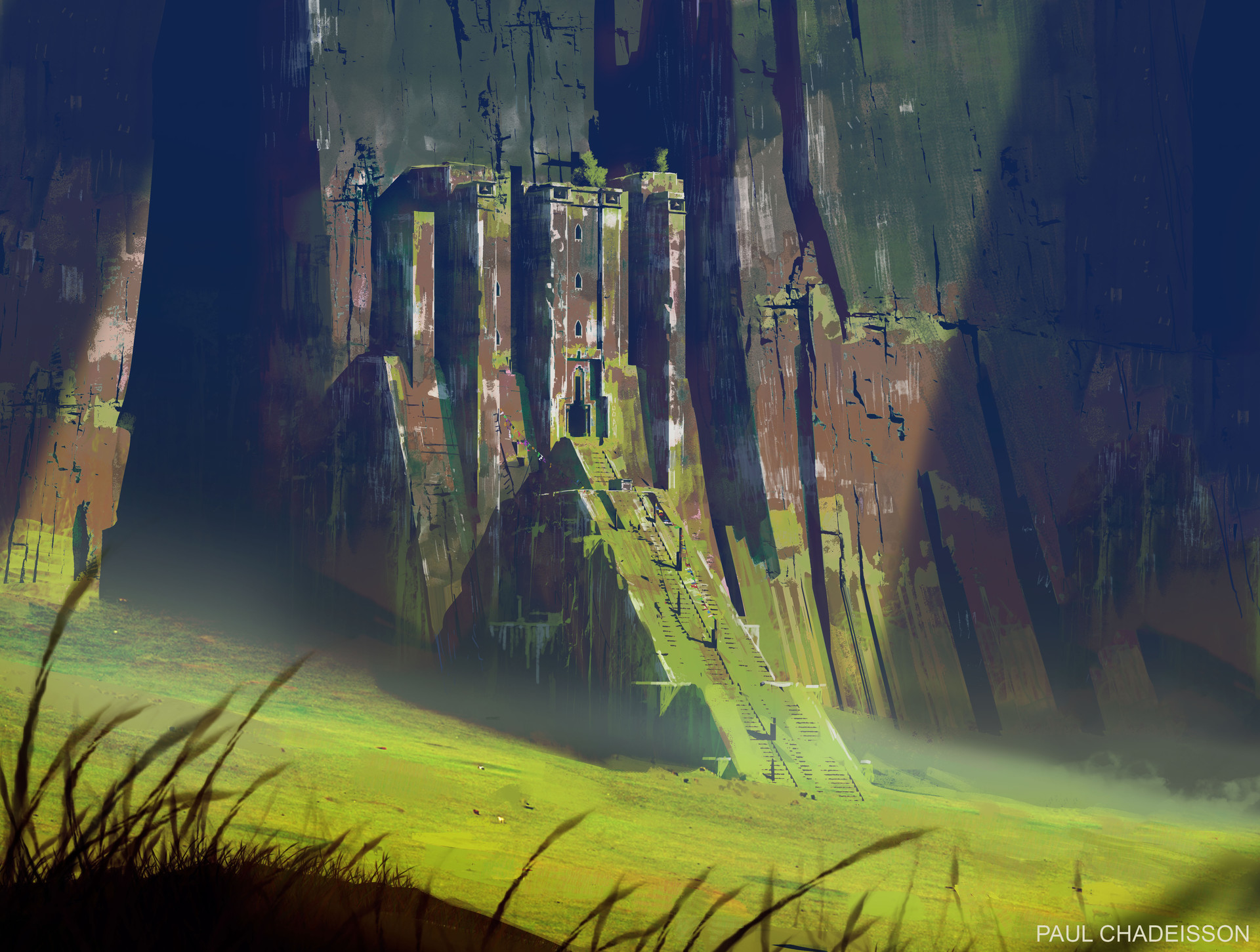 Paul chadeisson concept art test temple 01