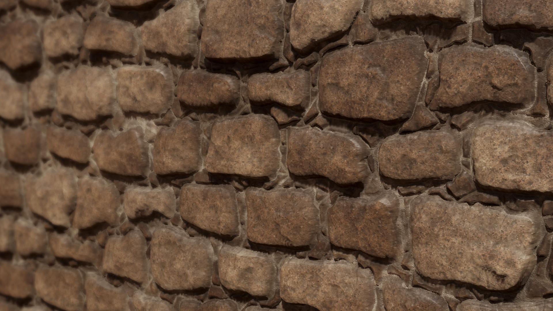 Ole midthun stone wall 2 render 3