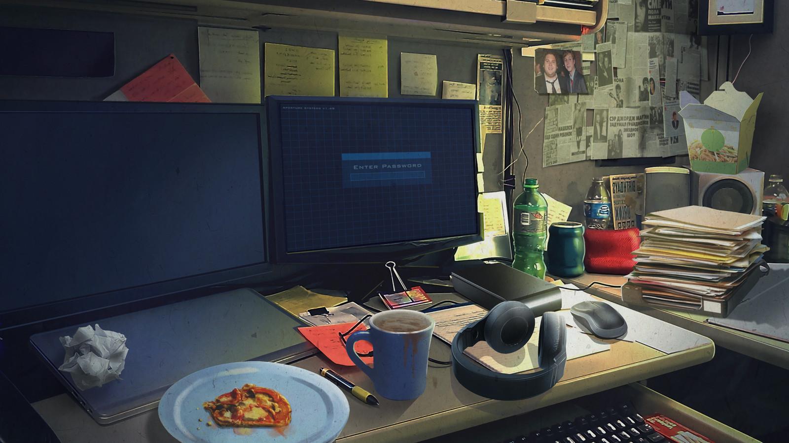 Scene 6 - PC place