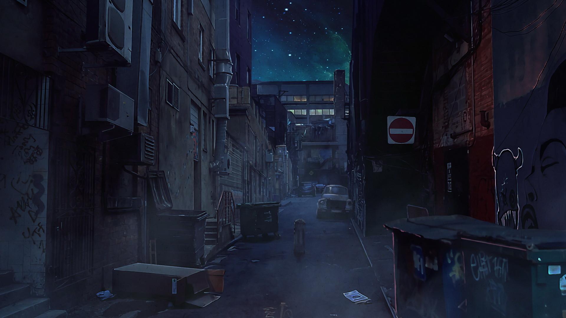 Scene 1 - Street view