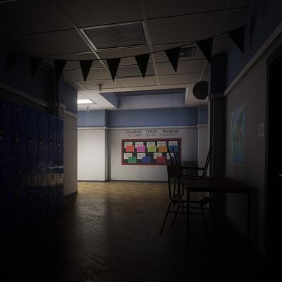 Dean lawrence hallway side