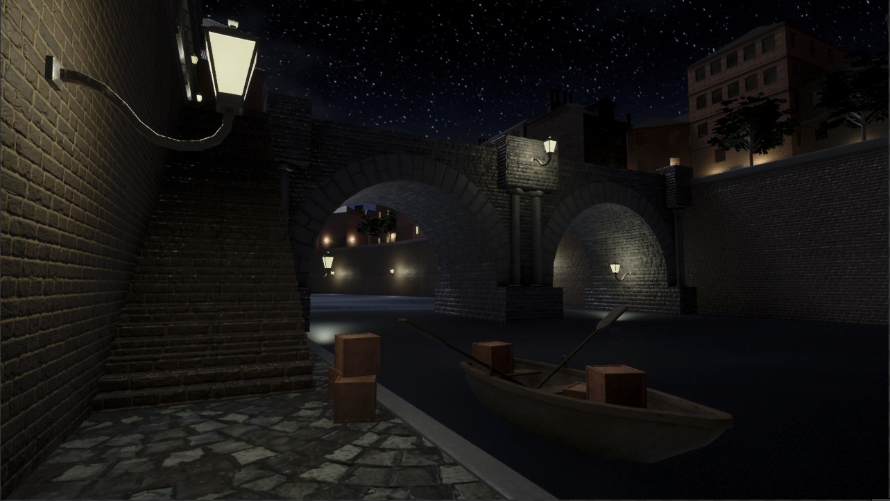 I made this city in Unreal using modular assets. It is set in Europe in the mid-1800's.