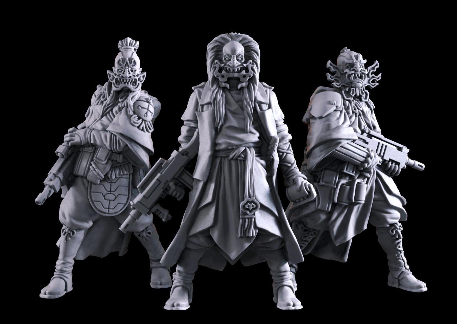 Michael jenkins kabuki gang together