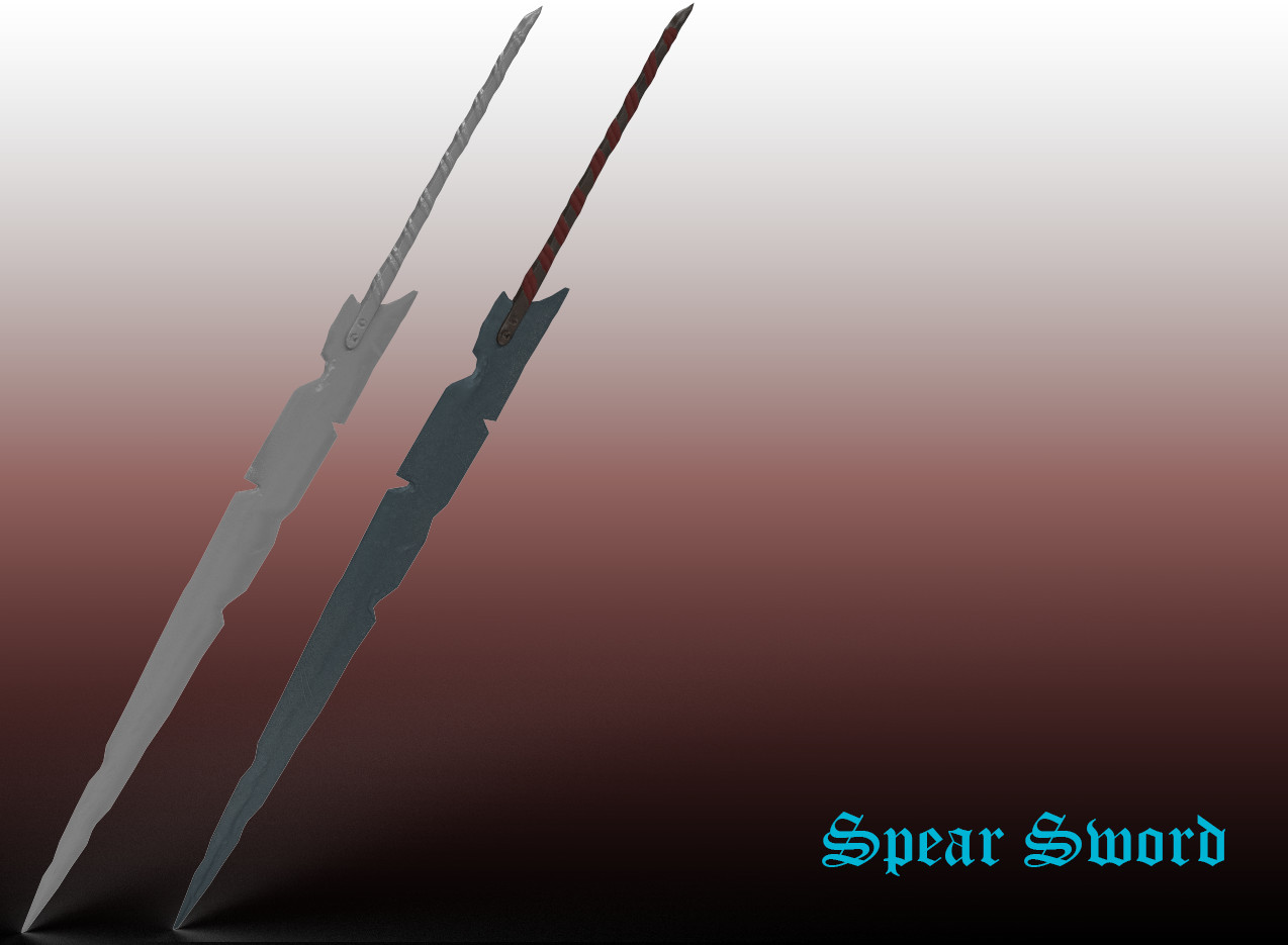 Alex brammer sword render double